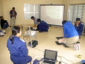海難救助訓練